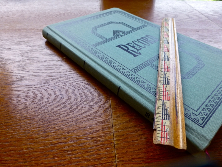 record book ruler